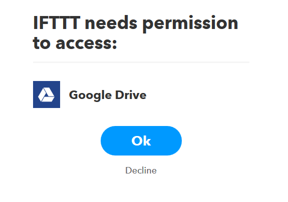 ถ้ามันจำเป็นต้องขอสิทธิ์เพิ่มเติมใดๆมันก็จะแจ้งบอกอย่างอันนี้คือผมต้องผูก Google Account เข้าไปก่อน