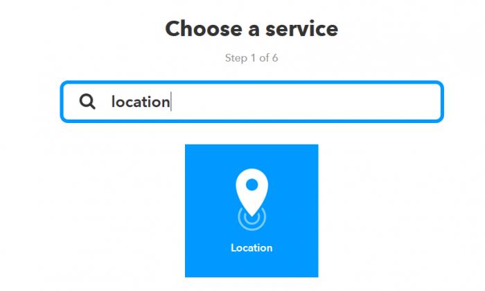 ค้นหาคำว่า location จะเจอ service Location ขึ้นมา