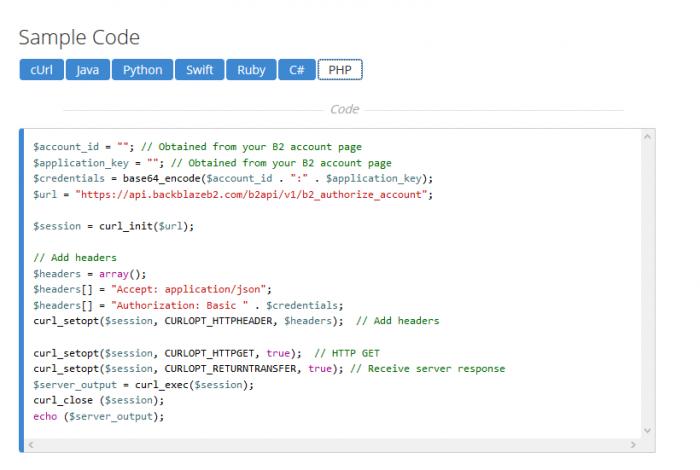 ตัวอย่าง PHP b2_authorize_account สรุปอ่านง่ายเข้าใจดี