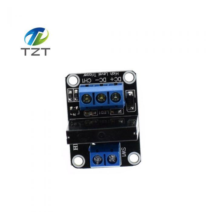 ด้านบนจะเห็นมี Connecter ให้ต่อไฟ 5V และต่อสัญญาณควบคุมเข้ามาและมี Output ให้ใช้ไปควบคุมได้